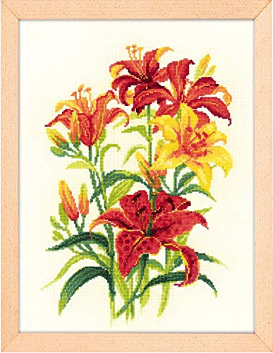 - RIOLIS 1782 - Tiger Lilies - Counted Cross Stitch Kit 9¾