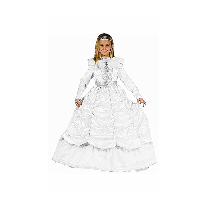 Dress up America Cenicienta, disfraz para niñas, 3-4 años, color blanco (540-T4): Amazon.es: Juguetes y juegos