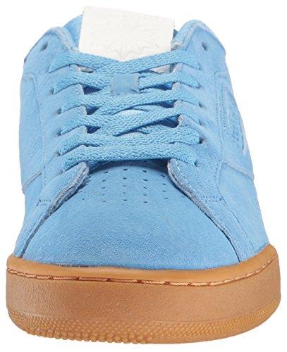 Reebok Heren Npc Uk Ii El Mode Sneaker Hemelsblauw / Witte Gom