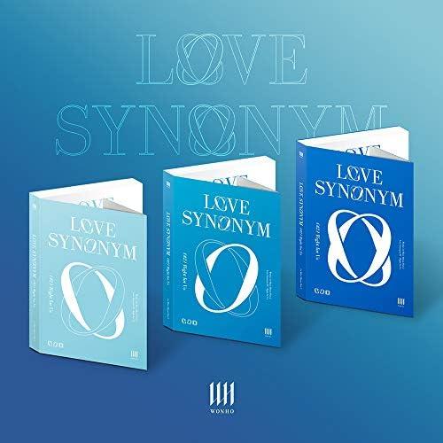 WONHO - Part.2 [Love Synonym #2 : Right for Us] (2d Mini Album) Album+Pre-Order Benefit (Random ver.)