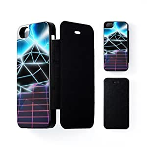 80s video game Black Flip Case for Apple? iPhone 5 / 5s by Nick Greenaway + FREE Crystal Clear Screen Protector by lolosakes