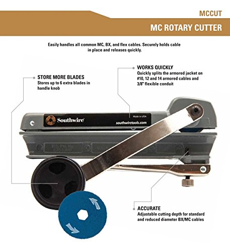 Southwire Tools & Equipment MCCUT BX/MC Rotary Kabel Cutter mit ...