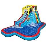 Slide N Soak Splash Park Kids Inflatable Outdoor Backyard Water Park With Ebook