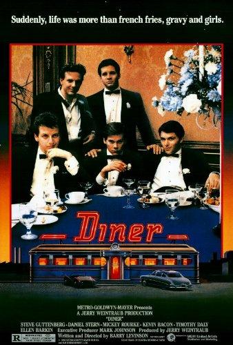 Image result for diner movie poster