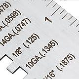 Sheet Metal Gauge 229895, Wire/Metal Sheet