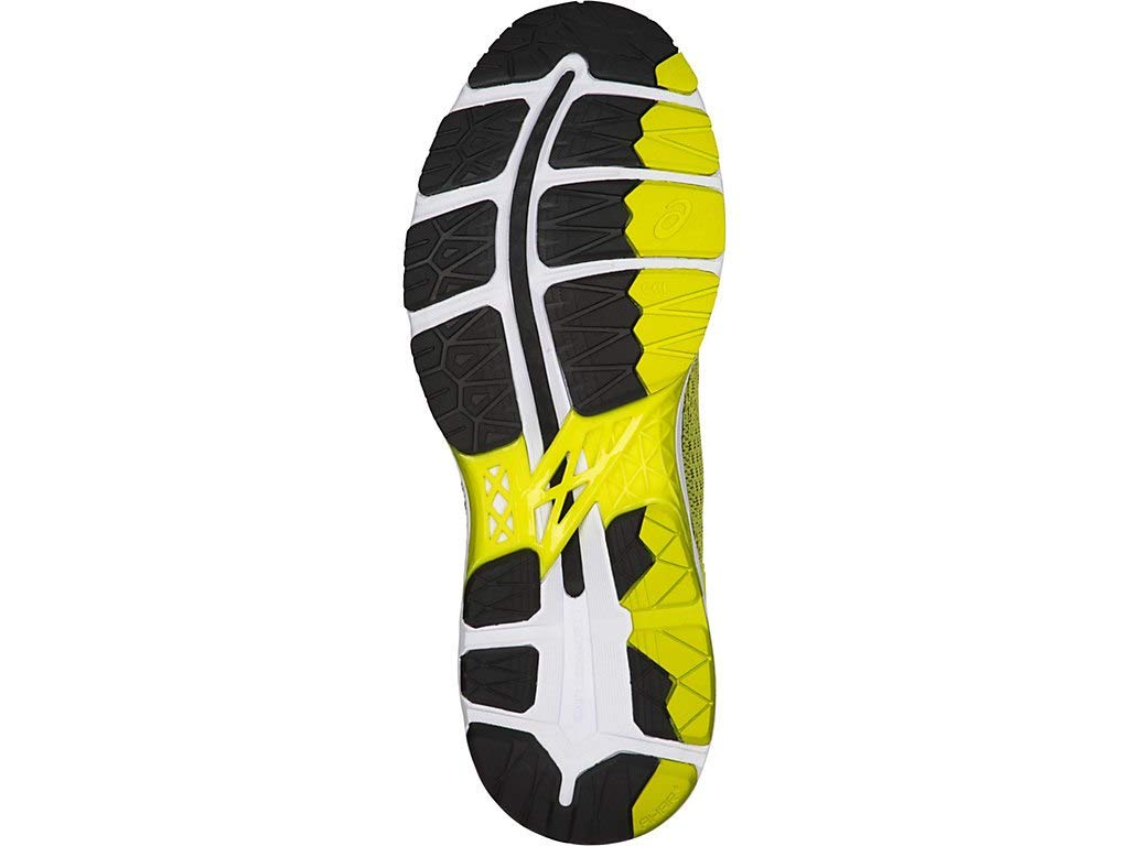 ASICS Men's Gel-Kayano 24 Running Shoes, 6M, Sulphur/Black/White by ASICS (Image #4)