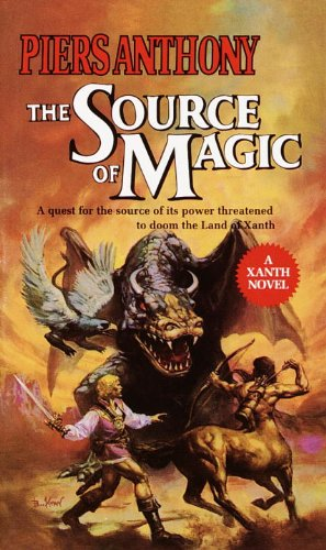 piers anthony xanth novel list in order