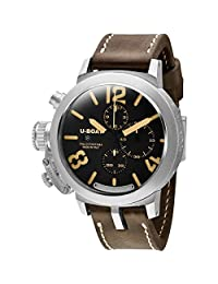 U Boat Classico Black Dial Chronograph Automatic Mens Watch 7453