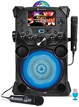 Singing Machine Bluetooth Streaming Fiesta Voice with LCD Monitor