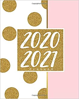 2020 2021 planner: Elegant Two Year Daily Weekly planner ...