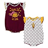 Gen 2 NCAA Arizona State Sun Devils Newborn & Infant Heart Fan 2pc Bodysuit Set, Multi, 6-9 Months