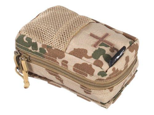 BE-X Abnehmbare Erste Hilfe Tasche mit Adapter für Modular System - BW tropentarn