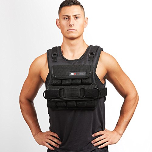 MIR® - 60LBS (SHORT STYLE) ADJUSTABLE WEIGHTED VEST by MiR Weighted Vest