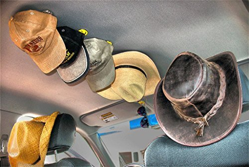 Truck Hat Rack - The Maghatter - Smiley Face Image #6 ()
