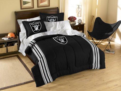 NFL Oakland Raiders Full/Twin Comforter Set