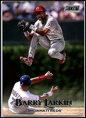2019 Topps Stadium Club #62 Barry Larkin Cincinnati Reds Baseball Card