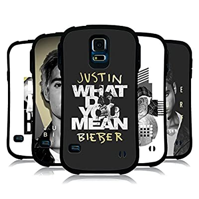 Official Justin Bieber Purpose B&W Hybrid Case for Samsung Galaxy S5 / S5 Neo