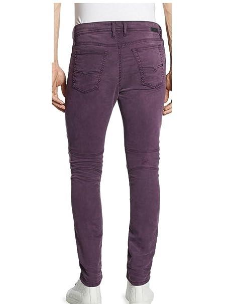 b9624315aa2 Diesel Jean Jogg Jeans Bakari-Ne Stretch Violet  Amazon.fr  Vêtements et  accessoires