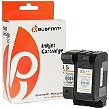 Bubprint 2 Druckerpatronen kompatibel für HP 23 + 15