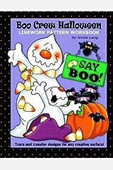 Boo Crew Halloween: Linework Pattern Workbook Paperback