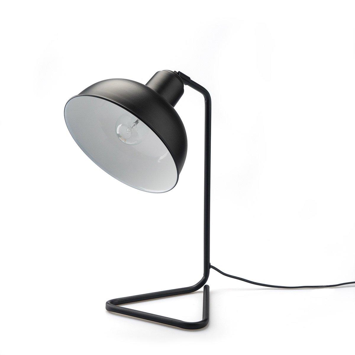 Black Velvet Studio Lampada da tavolo Pixar metallo, color nero, stile retrò, 26x19x41 cm. Black Velvet Studio S.L.U.