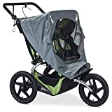BOB Weather Shield for Duallie Fixed Wheel Jogging Strollers - Grey