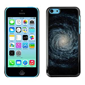 LASTONE PHONE CASE / Carcasa Funda Prima Delgada SLIM Casa Carcasa Funda Case Bandera Cover Armor Shell para Apple Iphone 5C / Galaxy Milky Way Stars Cosmos Mysterious