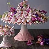 Pink Ruffle Cake Stand