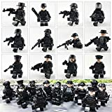 color mogu Army Minifigures SWAT Team With Military