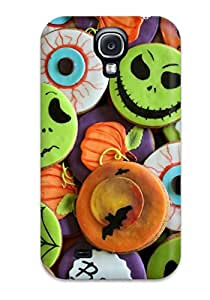 1768188K99467880 For Halloween Cookies Protective Case Cover Skin/galaxy S4 Case Cover
