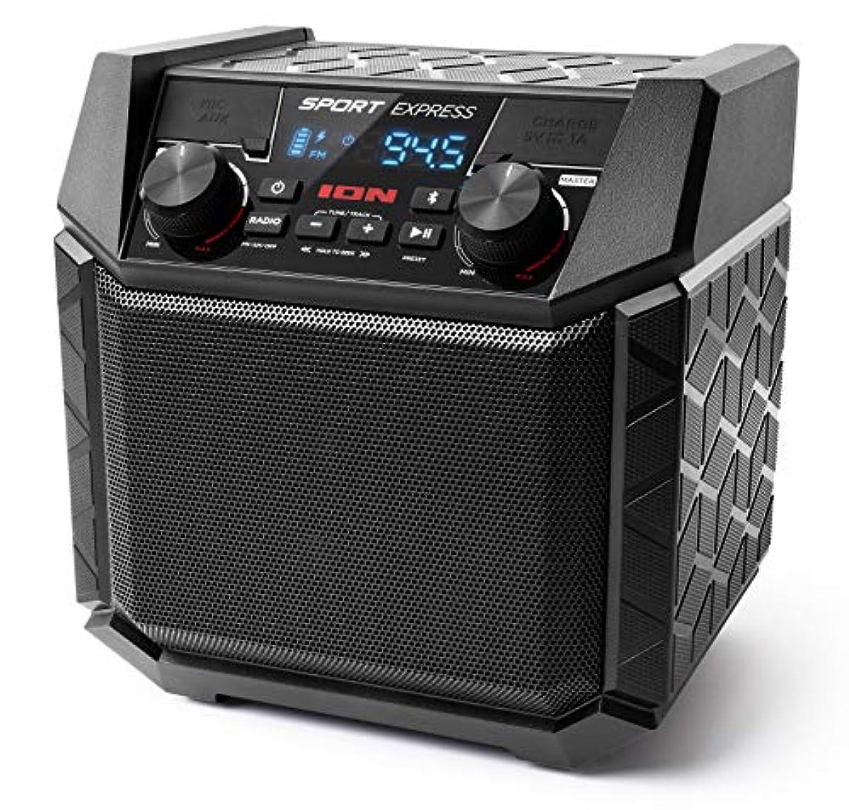 [해외] ION AUDIO 방수BLUETOOTH스피커 50시건 배터리 스마트폰충전 가능 20W AM/FM라디오 SPORT EXPRESS