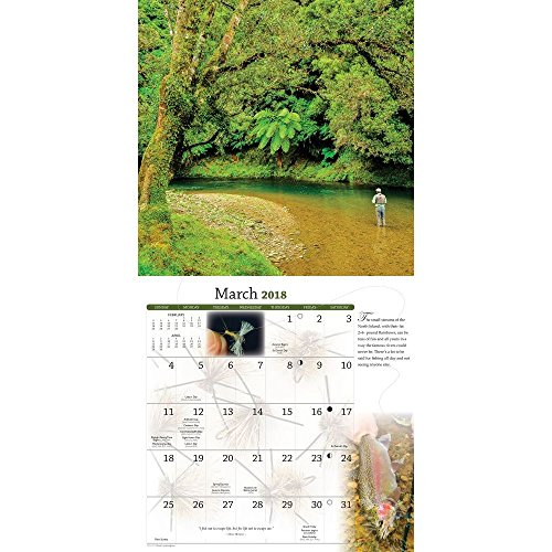 Fly Fishing Dreams 2018 Wall Calendar Photo #2