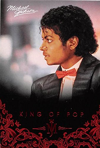 Michael Jackson trading card 2011 King of Pop #73 Billie Jean Video Outfit (Michael Jackson Billie Jean Outfit)