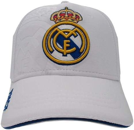 Gorra Real Madrid junior blanco primer equipo escudo Colores ...
