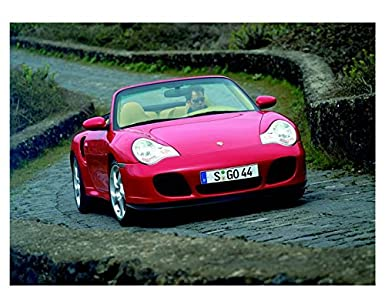 2004 Porsche 911 996 Turbo Cabriolet Photo Poster
