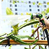 poshei Garden Hose Nozzle Spray Nozzle Set, Metal