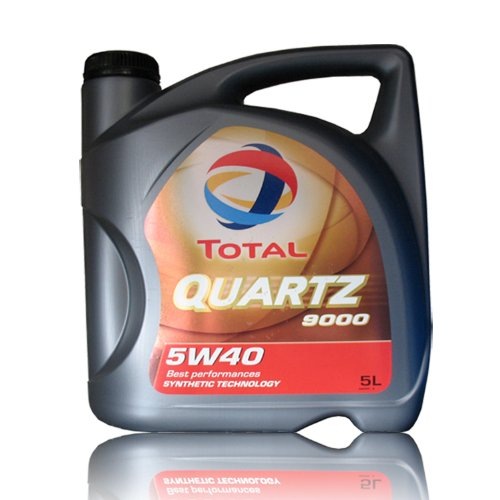 Total 148650 Quartz 9000 5W-40 Aceites de motor para coches, 5 Litros: Amazon.es: Coche y moto