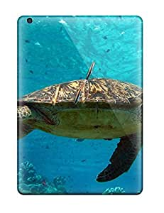 Flexible Tpu Back Case Cover For Ipad Air - Turtle by Maris's Diary