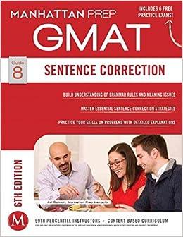 Sentence Correction GMAT Strategy Guide,