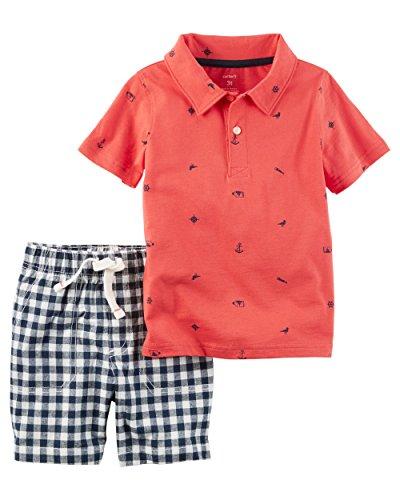 Carters Boys Piece Polo Shirt