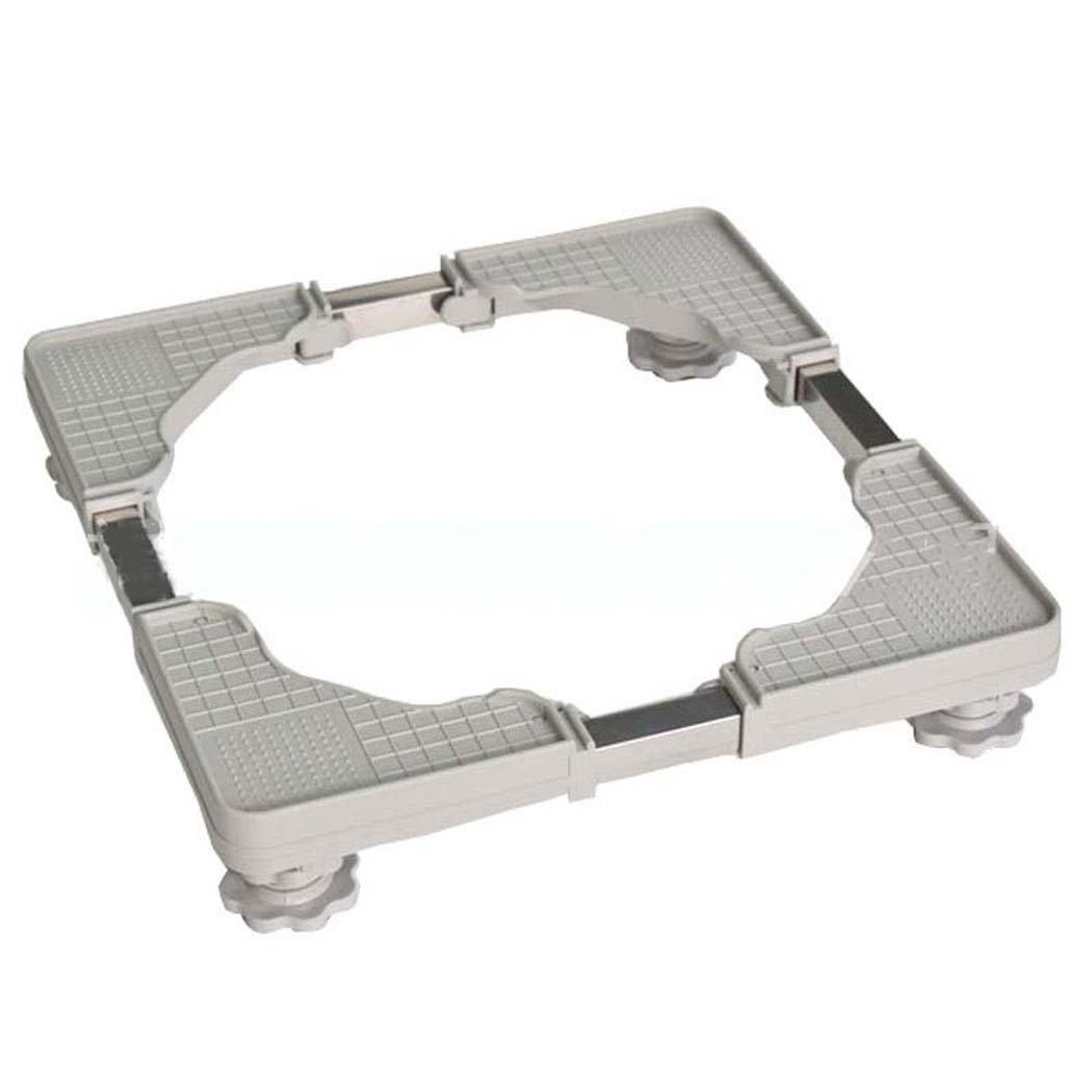Washing Machine Base, Multi-functional Adjustable Base Washing Machine Base Plate, Stainless Steel Bracket,for Washing Machine,Dryer And Refrigerator