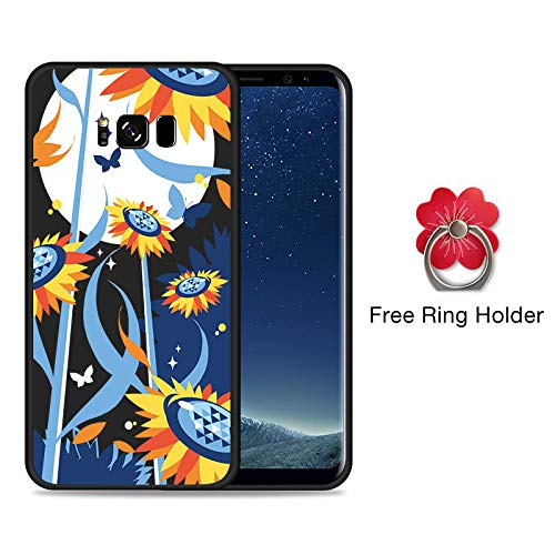 Amazon.com: Fitted Cases - Flower Case for Samsung Galaxy S8 ...