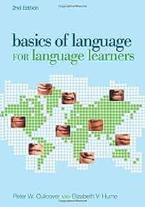 Basics of language for language learners /