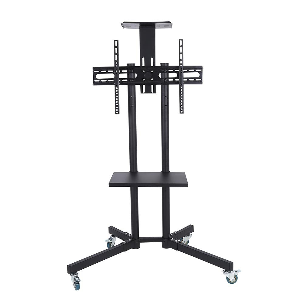 Cocoarm TV Cart,Adjustable Mobile TV Stand with Wheels for 32-65 Inch LCD/LED Flat Panel Screen