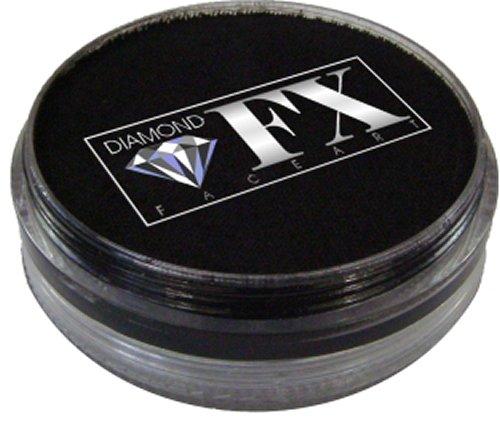 Diamond FX Face Paint 32g (Essential Black ES1010)