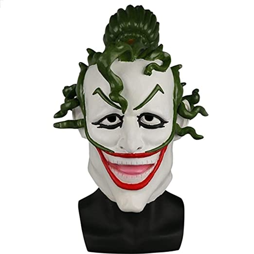 Máscara Fancy Face Mask Halloween Cosplay Ninja Batman Clown ...