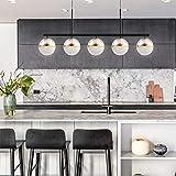 Joyxeon Modern 5 Lights Kitchen Pendant