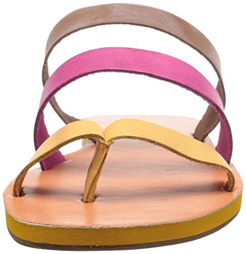 BC Footwear Womens Peanut Slide Sandal Yellow/Fuchsia/Gold KPrnRx