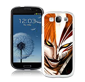 Hot Sale Samsung Galaxy S3 I9300 Case ,Popular And Unique Designed With Bleach Ichigo White Samsung Galaxy S3 I9300 High Quality Cover