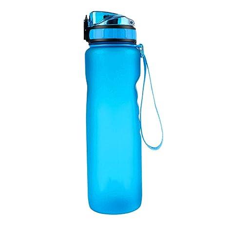 GYZ Botellas de Agua Fugas a Prueba de Fugas de plástico ...